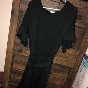 GAP sweater dress with flutter sleeve